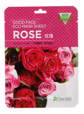 Amicell Тканевая маска для лица с экстрактом розы Pascucci Good Face Eco Mask Sheet Rose 23мл