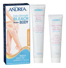 Andrea Набор для тела Extra Strength Bleach For The Body (крем Blech Cream 99г + крем активатор Cream Activator 28г)