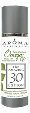 Aroma Naturals Лосьон для лица The Amazing 30 Omega-x Lotion 114г