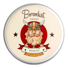 Borodist Бальзам для бороды Beard Balm Warrior 30г
