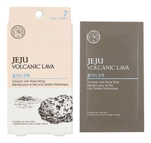 The Face Shop Патч для носа Jeju Volcanic Lava Ash Nose Strip 7шт