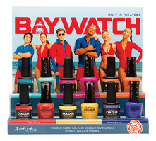 Artistic Набор лаков для ногтей Baywatch (Resting Beach Face + Off Duty + Baes Of The Bay + Little Red Suit + Summer Crushin' + Sun's Out, Buns Out) 12*15мл