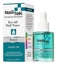 Nail Tek Mасло для кутикулы с антигрибковыми компонентами Renew Cuticle Oil 15мл