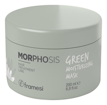 Framesi Маска для волос Morphosis Green Moisturizing Mask 200мл