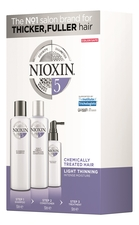 NIOXIN Набор Hair System 5 Normal To Thin-Looking (шампунь д/волос Cleanser Shampoo 150мл + кондиционер д/волос Scalp Revitaliser Conditioner 150мл + маска д/волос Scalp Treatment 50мл)