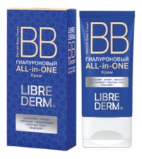 Librederm Гиалуроновый BB крем для лица All-in-One Blemish Base Cream 50мл