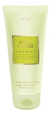 Maurer & Wirtz 4711 Acqua Colonia Lime & Nutmeg