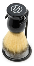 Rockwell Razors Помазок для бритья Synthetic Shaving Brush (черный акрил)