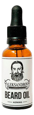 ALEKSANDROV Масло для бороды Sunrise Beard Oil Nothing