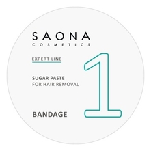 Saona Cosmetics Сахарная паста для шугаринга Expert Line 1 Sugar Paste For Hair Removal Bandage