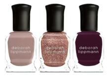 Deborah Lippmann Набор лаков для ногтей Color on Glass 3*8мл (Modern Love + Miss Independent + Swinging On A Star)