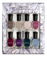 Deborah Lippmann Набор лаков для ногтей Crystal Prism 8*8мл (Ain't Nobody's Business + Lazy Afternoon + Cheek To Cheek + A Blossom Fell + Heart And Soul + I Won't Dance + Luck Be A Lady + Blue Skies)