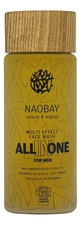 Naobay Мужской гель для лица All In One Multi Effect Face Wash 100мл