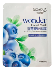 Bioaqua Маска для лица с экстрактом черники Wonder Facial Mask 30г