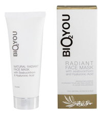 Bio2You Маска для лица Natural Radiant Face Mask 75мл