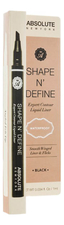ABSOLUTE New York Жидкий лайнер для глаз Shape N' Define Liner 1мл