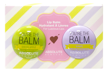 ABSOLUTE New York Набор бальзамов для губ Lip Balm You`re The Balm (Green Apple + Grape)