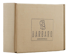 Barbaro Набор (бальзам д/бороды Leningrad Premium Beard Balm 30мл + глина д/волос Matte Hair Clay Short And Medium Hair Styles 60г)