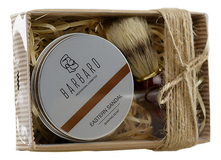 Barbaro Набор для бритья v. 2 (мыло Eastern Sandal Shaving Soap 80г + помазок)