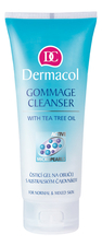 Dermacol Гель-гоммаж для лица Gommage Cleanser With Tea Tree Oil 100мл