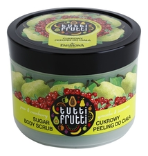 Farmona Сахарный скраб для тела Tutti Frutti Pear & Cranberry Sugar Body Scrub 300мл (груша, клюква)