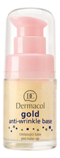 Dermacol База под макияж Gold Anti-Wrinkle Base 15мл