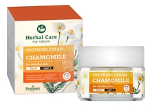 Farmona Успокаивающий крем для лица Herbal Care Chamomile Soothing Day and Night Cream 50мл (ромашка)