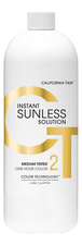 California Tan Лосьон для автозагара Instant Sunless Solution Medium Tinted 1000мл