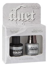 Artistic Набор для ногтей Up To Snow Good (гель-лак Colour Gloss 15мл + лак Color Revolution 15мл)