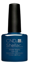 CND Гель-лак UV Shellac Glacial Illusion 7,3мл