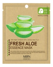 Mijin Тканевая маска для лица Алоэ Fresh Aloe Essence Mask 25г
