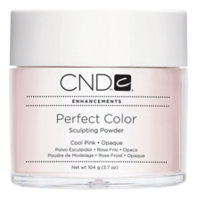 CND Пудра для ногтей Perfect Color Cool Pink-Opaque 104г