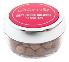 NINELLE Румяна для лица в шариках Soft Focus Balance Meteotires 25г
