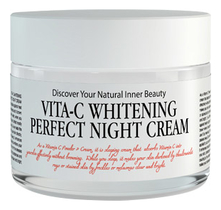Chamos Acaci Восстанавливающий ночной крем для лица Vita-C Whitening Perfect Night Cream 50мл
