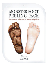Chamos Acaci Носочки для  пилинга стоп  Monster Foot Peeling Pack