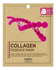 Mijin Тканевая маска для лица с коллагеном Collagen Essence Mask 25г