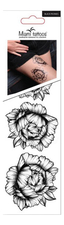 Miami Tattoos Набор тату для тела Black Peonies