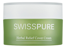 SWISS PURE Крем для лица Herbal Relief Cover Cream 30мл
