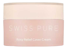 SWISS PURE Крем для лица Rosy Relief Cover Cream 30мл