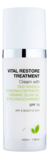 Seventeen Восстанавливающий крем для лица Vital Restore Treatment Cream SPF15 50мл