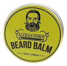 ALEKSANDROV Бальзам для бороды Juicy Citrus Beard Balm 30г
