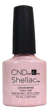 CND Гель-лак UV Shellac Nude Collection 7,3мл