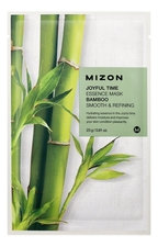 Mizon Тканевая маска для лица с экстрактом бамбука Joyful Time Essence Mask Bamboo 23г