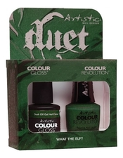 Artistic Набор лаков для ногтей What The Elf? Duet 2*15мл (Colour Revolution + Colour Gloss)