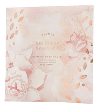 Thymes Соль для ванной Goldleaf Gardenia Foaming Bath Salts 60г