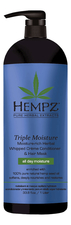 Hempz Кондиционер для волос Triple Moisture Replenishing Conditioner