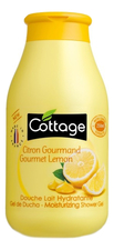 Cottage Гель для душа Moiturizing Shower Gel Gourmet Lemon 250мл
