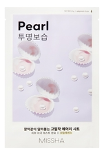 Missha Тканевая маска для лица с экстрактом жемчуга Airy Fit Sheet Mask Pearl 19г