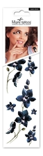 Miami Tattoos Набор тату для тела Black Orchid