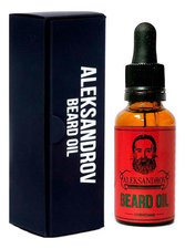 ALEKSANDROV Масло для бороды Beard Oil Christmas 30мл